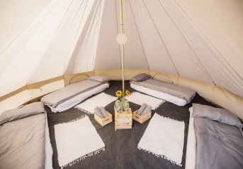 Classic Bell Tent: 4 Person Classic Bell Tent